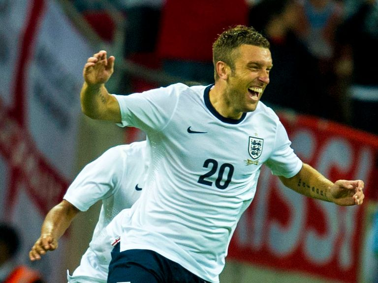 Rickie Lambert: Scored for England on a memorable debut