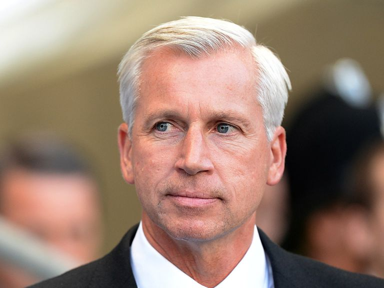 Pardew: Preparing for his side's Capital One Cup trip to Morecambe