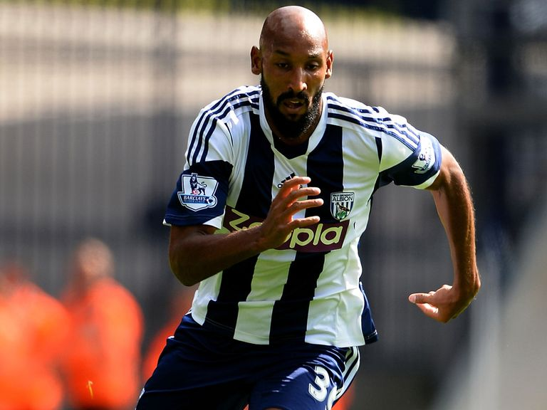 Nicolas Anelka: Could feature for West Brom at the weekend