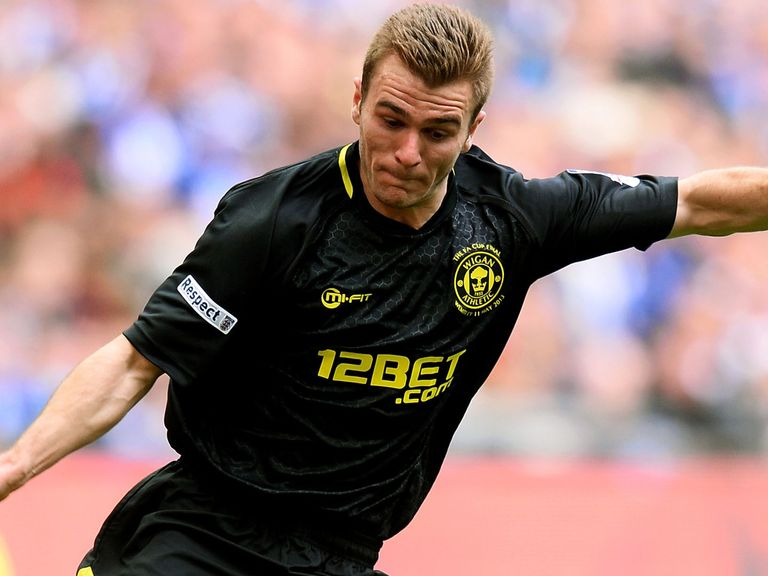 Callum McManaman: Still suspended for Wigan