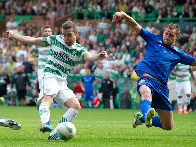 Adam Matthews secures a 2-2 draw for Celtic against Inverness.