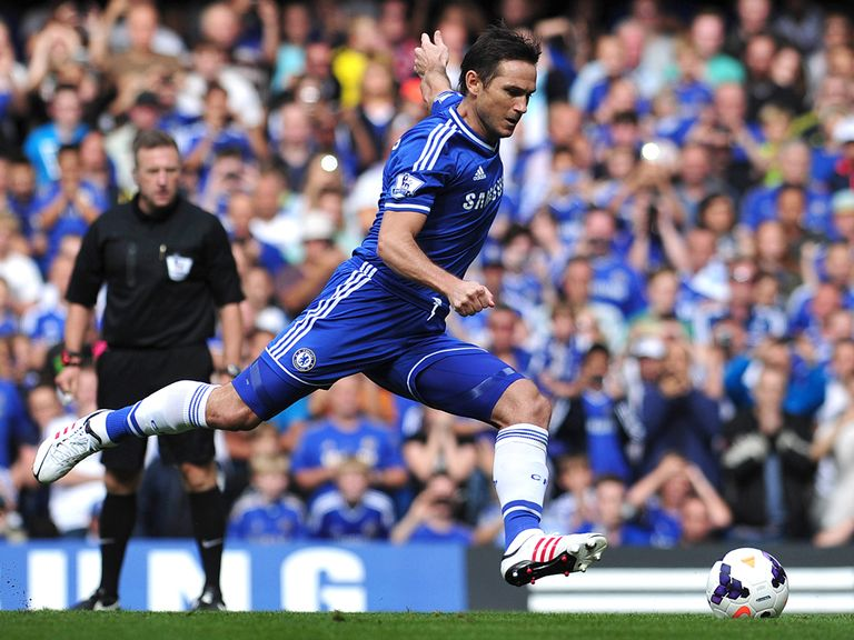 Lampard: Determined to keep in the title race