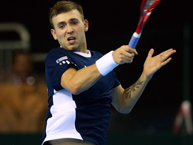 Dan Evans: Booked place in main draw