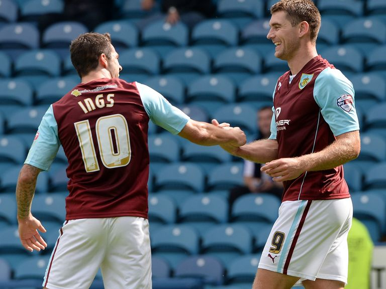 Danny Ings and Sam Vokes: Formidable up front for Burnley