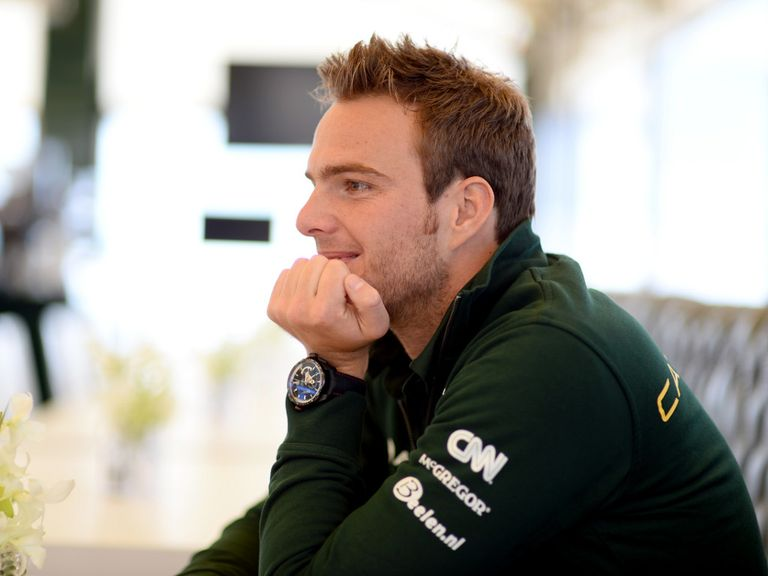 Giedo van der Garde: Has been recruited by Sauber