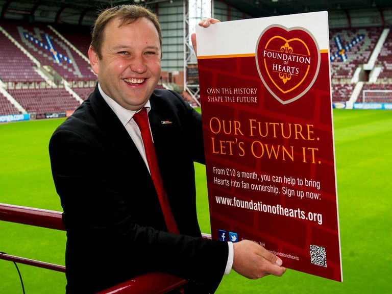 Ian Murray: Out to stablise the club's finances