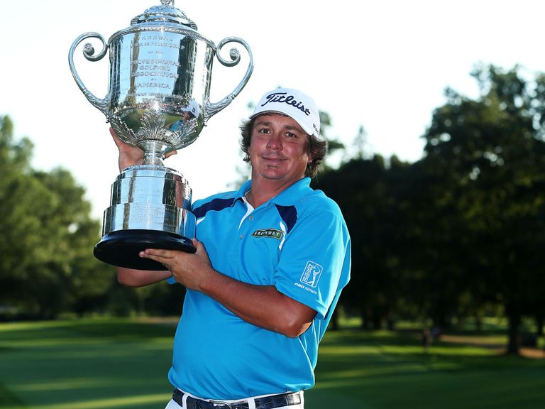 Jason Dufner: Won the US PGA Championship two weeks ago