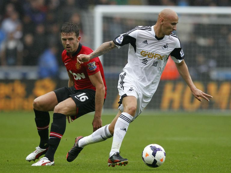 Manchester United host Swansea in the Saturday Night Football contest.