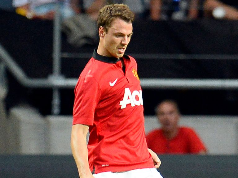 Jonny Evans: Getting ready for the new season