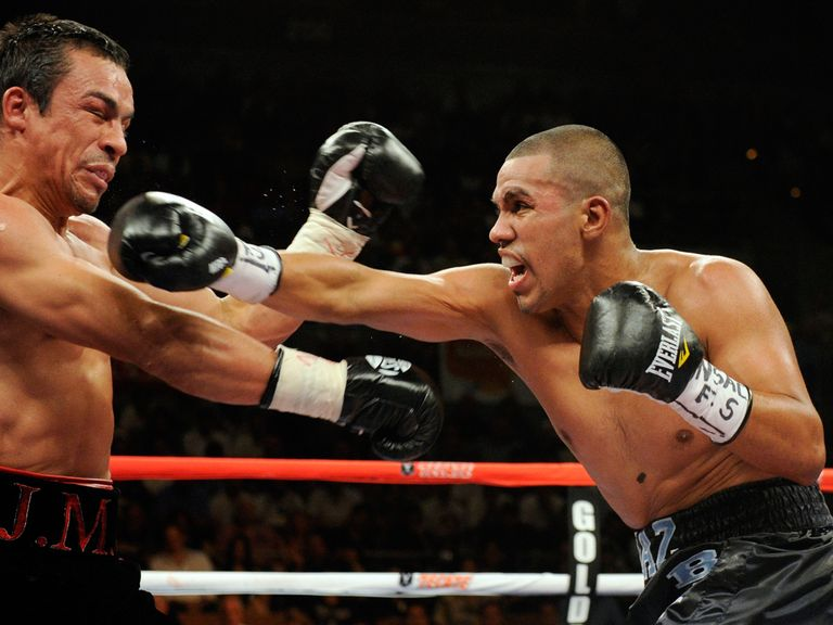 Juan Diaz (r): Looking to win back a world title