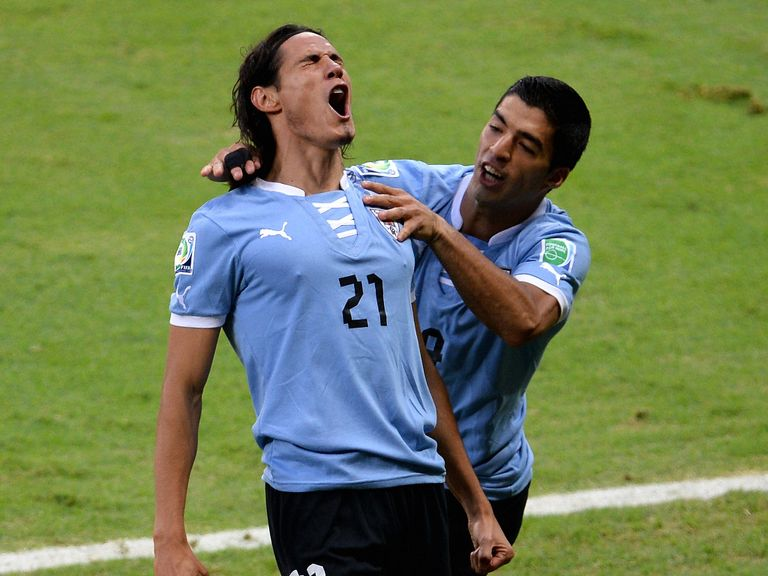 Edinson Cavani: Close to Luis Suarez
