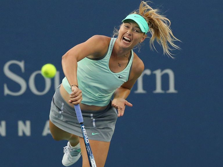 Maria Sharapova: Struggling with a shoulder injury