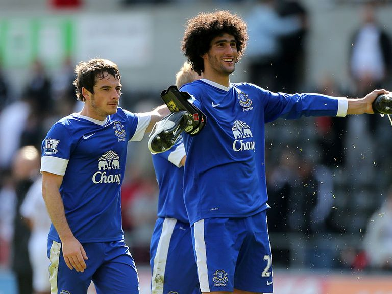 Baines and Fellaini: Manchester United targets