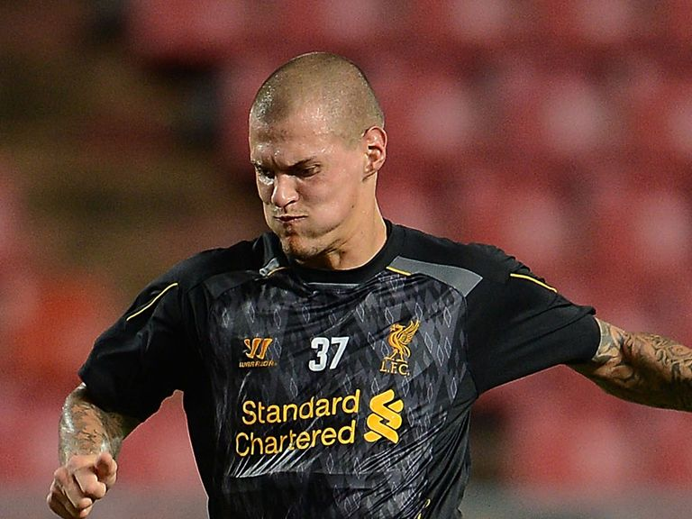 Martin Skrtel: Linked with a move to Napoli