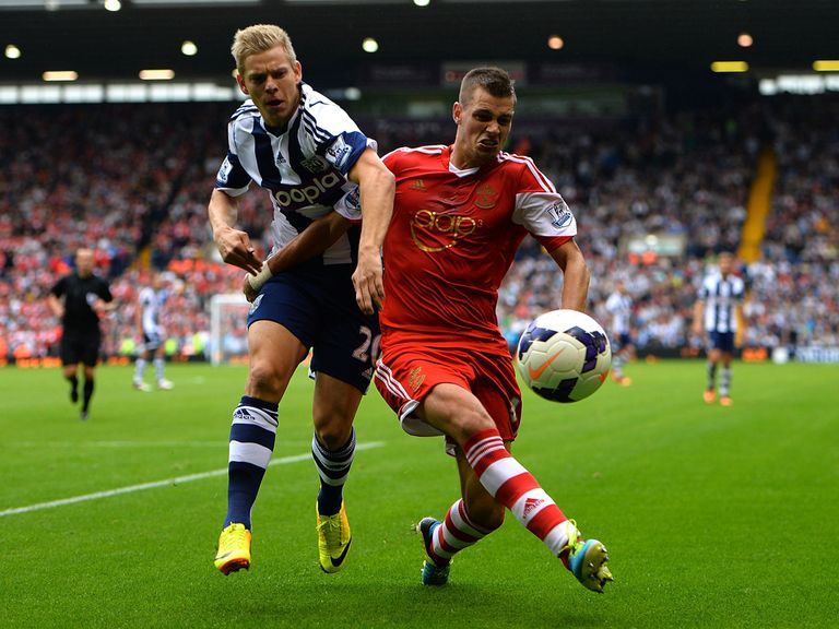 Vydra: Looked lively on his West Brom debut