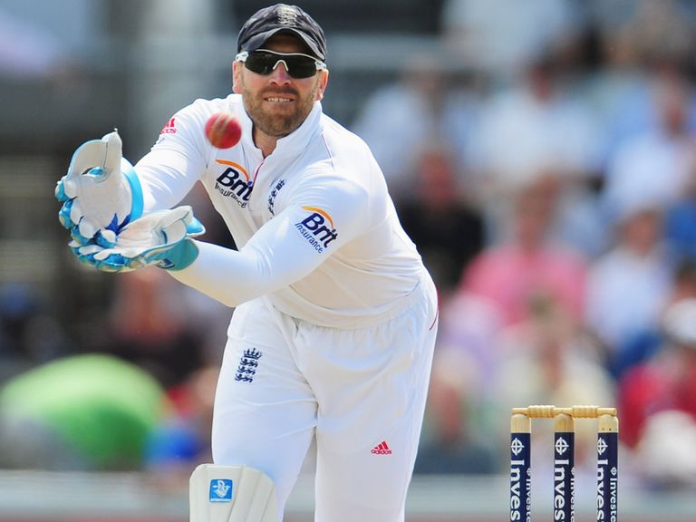 Matt Prior: Refutes England have been 'lucky'