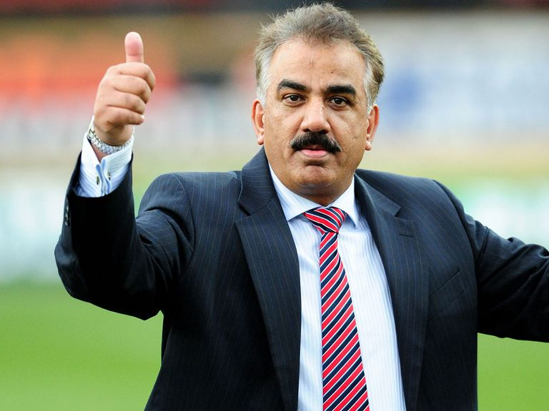 Omar Khan: Stepping down as owner of Bradford Bulls