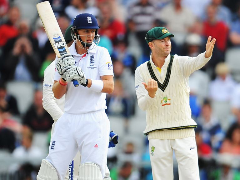 Joe Root led England's fightback on day three