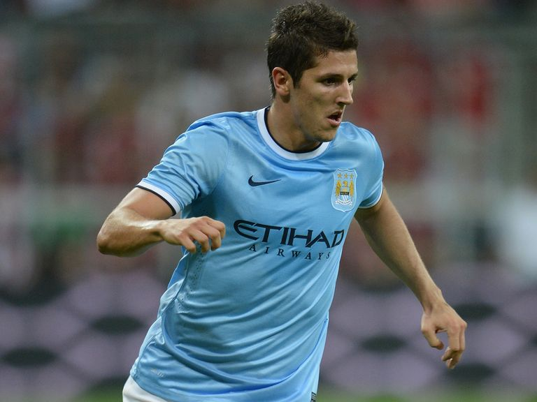Stevan Jovetic: Happy at Man City