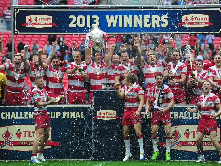 Wigan: Start their defence against Dewsbury