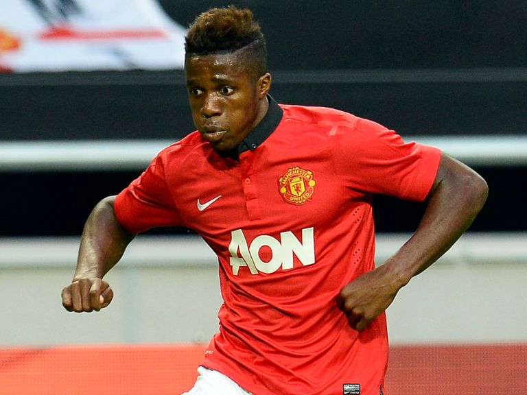 Wilfried Zaha: Still to debut for United in the Premier League