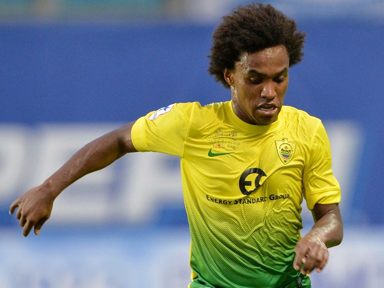 Willian: Expected to sign for Spurs