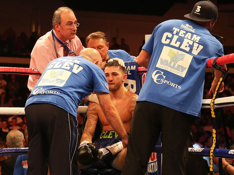 Nathan Cleverly: Coming to terms with first professional defeat