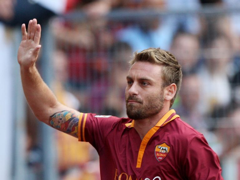 Daniele de Rossi: Roma midfielder is not leaving