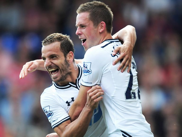 Sigurdsson: Relishes the competiton at Spurs