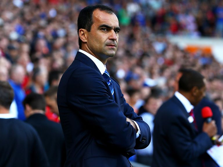 Roberto Martinez: Keen to keep Everton's momentum going