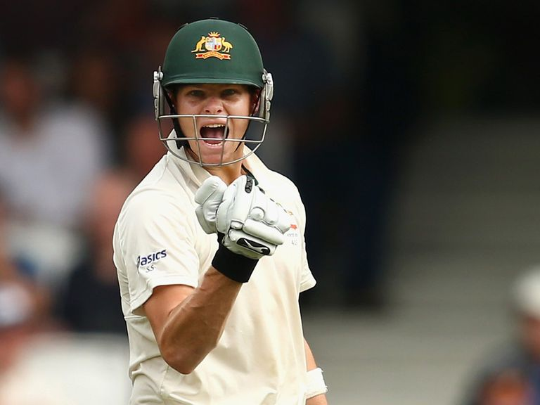 Steven Smith: Fine century at the Oval