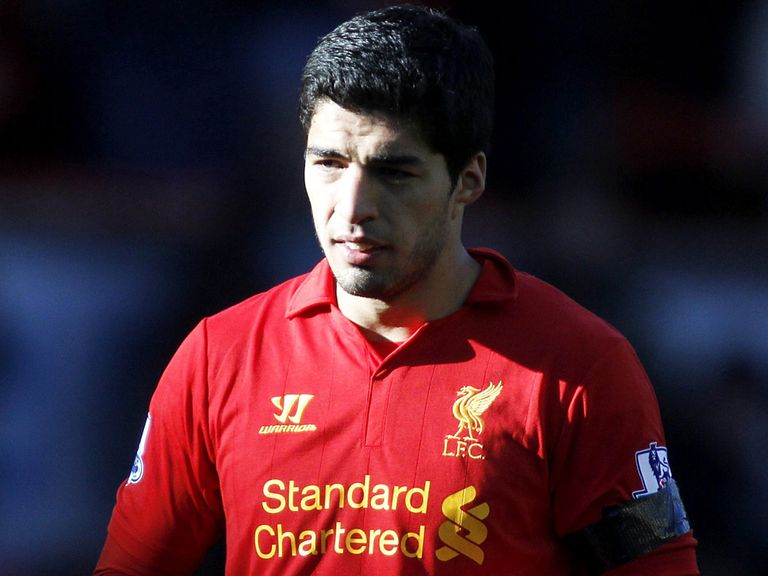 Suarez: Backed by Liverpool on several occassions