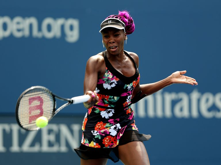 Venus Williams: Through to round two