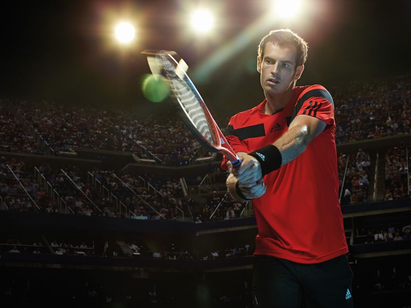 Defending champion Andy Murray will be in this adidas number