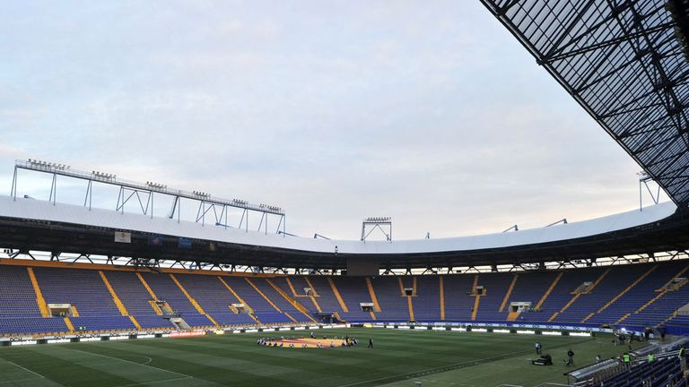 Metalist Stadium: venue for Ukraine's clash with Poland