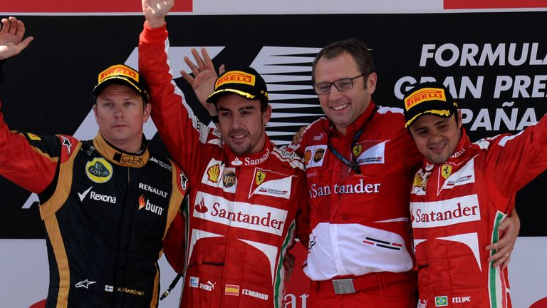 Kimi Raikkonen and Fernando Alonso: On the same side in 2014