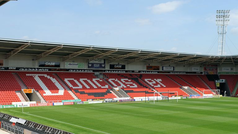Keepmoat Stadium: The club's owners have rejected a takeover bid