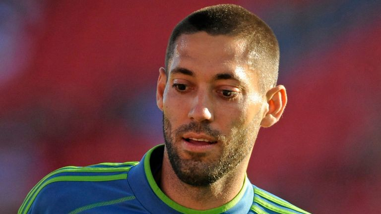 Clint Dempsey: Being linked with a loan return to England in the New Year