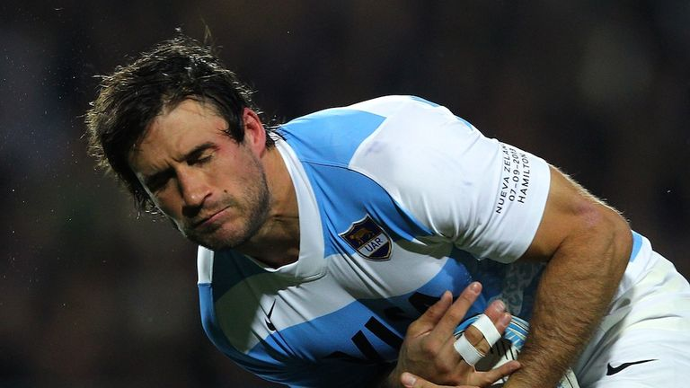 Marcelo Bosch: Argentina centre has joined up with new club team-mates