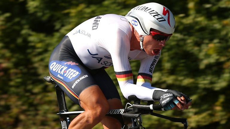 Tony Martin won with a dominant performance