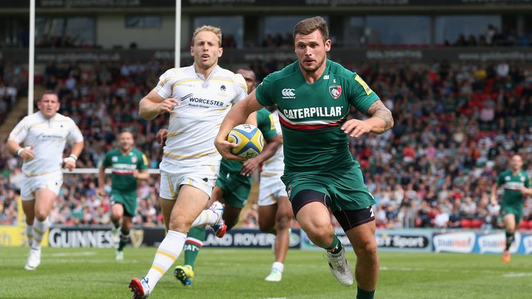 Adam Thompstone: Leicester wings gets chance for England's second string