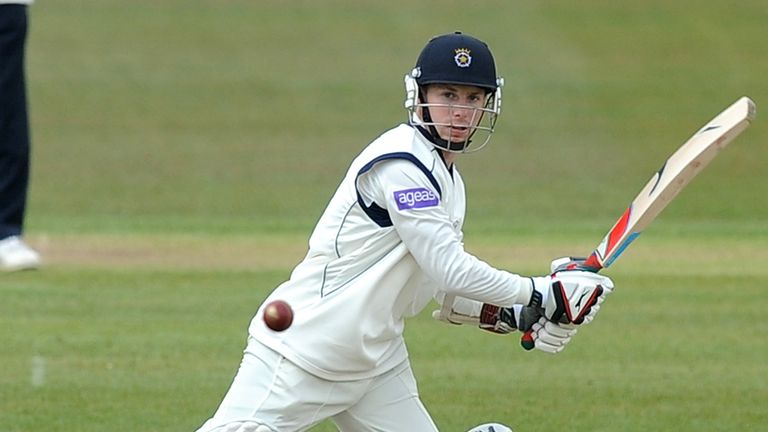 Adam Wheater: Hampshire batsman recorded his highest home score since his move to the south coast