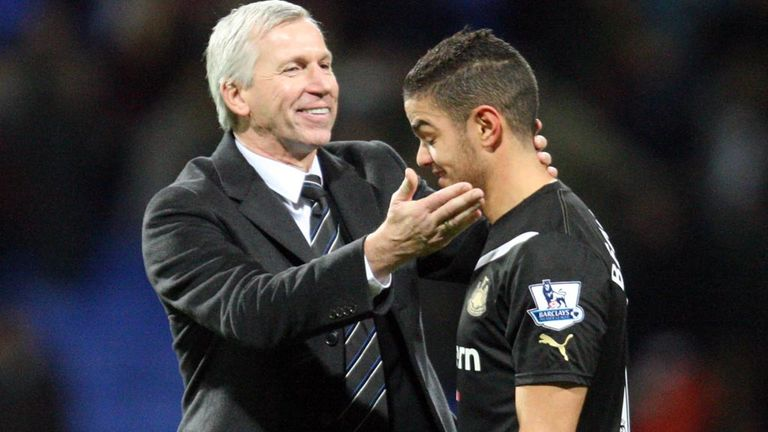 Alan Pardew: Wants more from Hatem Ben Arfa