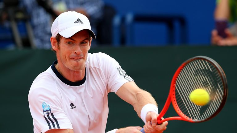 Andy Murray: Now hopes to be fit in time for Australian Open