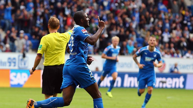 Anthony Modeste: Bagged a brace for Hoffenheim