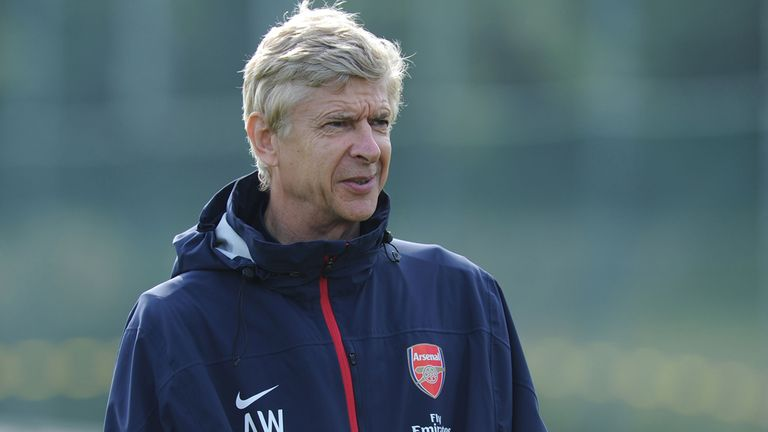 Arsene Wenger: Refusing to talk of a title challenge just yet