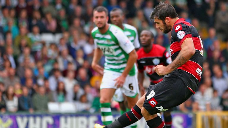 Charlie Austin: Netted from the spot
