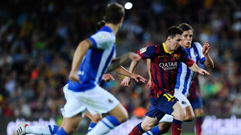 Messi: Should have done better against Sociedad - Ten Cate