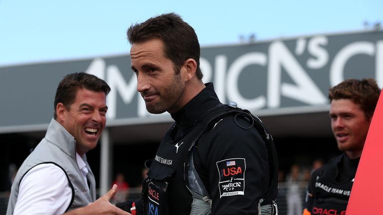 Sir Ben Ainslie: Facing winner-takes-all decider tonight