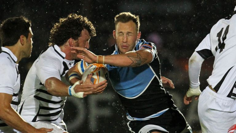 Byron McGuigan: Scored two tries in victory over Zebre